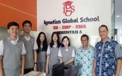 SMA Ignatius Global School peraih nilai tertinggi berturut turut